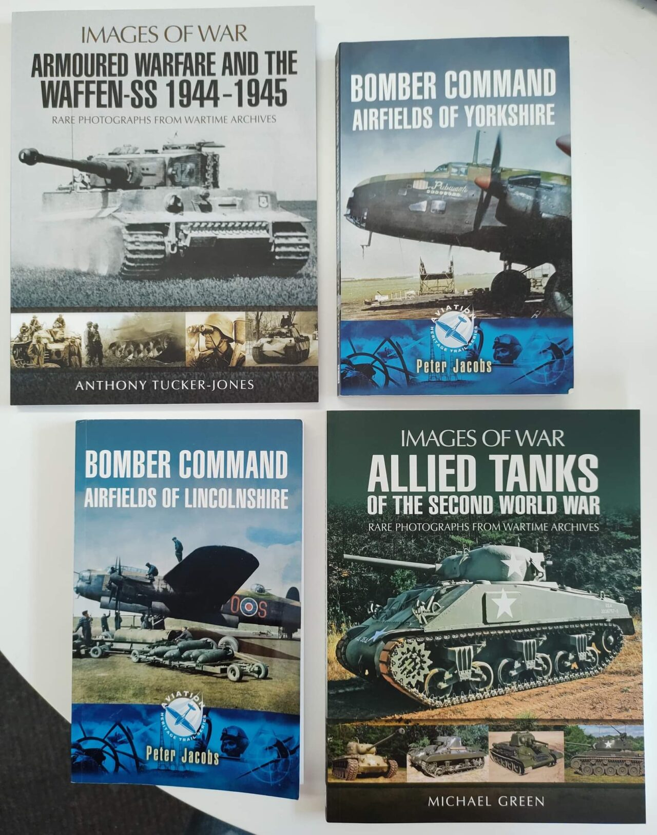A selection of new books in stock